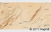 Satellite 3D Map of Laghouat