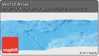 """Political Panoramic Map of the Area around 34°0'57""""N,32°22'30""""E"""
