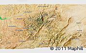 Satellite 3D Map of Taza