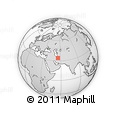 Outline Map of Khur, rectangular outline
