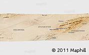 Satellite Panoramic Map of Chāqmāq