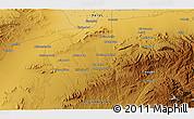 Physical 3D Map of Bozmishī