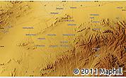 Physical Map of Bozmishī