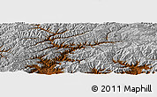 Physical Panoramic Map of Barughsownak