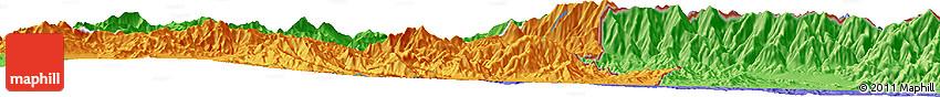 Political Horizon Map of Azrow