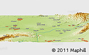 "Physical Panoramic Map of the area around 34° 0' 57"" N, 72° 19' 29"" E"