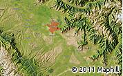 Satellite Map of Srīnagar