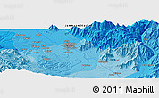 Political Panoramic Map of Srīnagar
