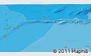 Political 3D Map of Tozeur
