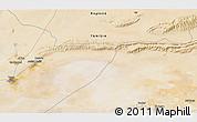 Satellite 3D Map of Tozeur