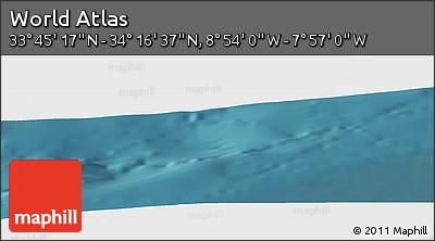 "Satellite Panoramic Map of the Area around 34°0'57""N,8°25'30""W"