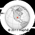 Outline Map of Durant, rectangular outline