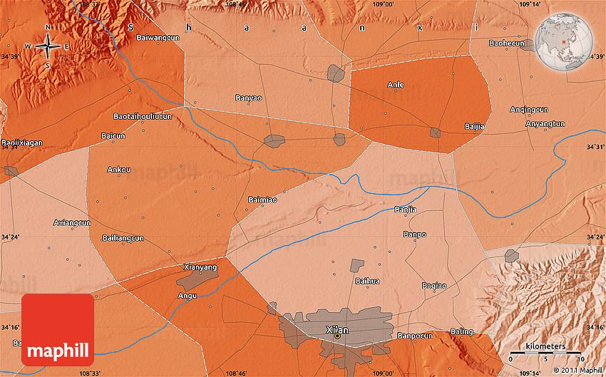 Langkazi Xian Map - Shannan, Tibet - Mapcarta |Xian East Asia Map
