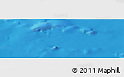 "Shaded Relief Panoramic Map of the area around 34° 28' 56"" N, 10° 7' 30"" W"