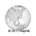 Outline Map of He'erzhuang, rectangular outline