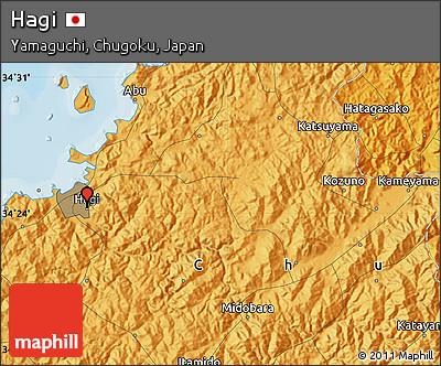 Political Map of Hagi