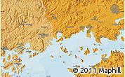 Political Map of Okayama