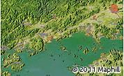 Satellite Map of Okayama