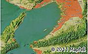 Satellite Map of Ōsaka