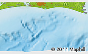"""Physical 3D Map of the area around 34°28'56""""N,137°46'30""""E"""