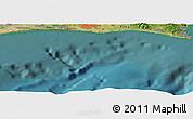 Satellite Panoramic Map of Hamamatsu