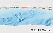 Shaded Relief Panoramic Map of Hamamatsu