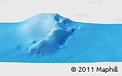"""Physical Panoramic Map of the area around 34°28'56""""N,14°22'30""""W"""