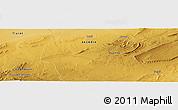 Physical Panoramic Map of El Idrissia