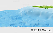 "Physical Panoramic Map of the area around 34° 28' 56"" N, 32° 22' 30"" E"