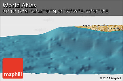 "Satellite Panoramic Map of the Area around 34°28'56""N,32°22'30""E"
