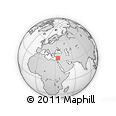 """Outline Map of the Area around 34° 28' 56"""" N, 34° 4' 30"""" E, rectangular outline"""