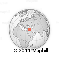 """Outline Map of the Area around 34° 28' 56"""" N, 40° 52' 30"""" E, rectangular outline"""