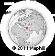 Outline Map of ((Fuḩaymī)), rectangular outline
