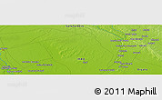 "Physical Panoramic Map of the area around 34° 28' 56"" N, 44° 16' 29"" E"