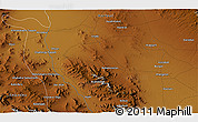 Physical 3D Map of Āb Anbār