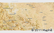 Satellite 3D Map of Āb Anbār