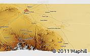 Physical 3D Map of Qom
