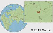 "Savanna Style Location Map of the area around 34°28'56""N,60°25'29""E"
