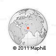 """Outline Map of the Area around 34° 28' 56"""" N, 60° 25' 29"""" E, rectangular outline"""