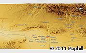 Physical 3D Map of Herāt