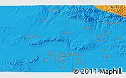 Political 3D Map of Herāt