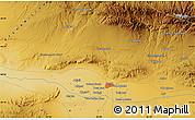 Physical Map of Chīri