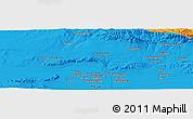 Political Panoramic Map of Herāt