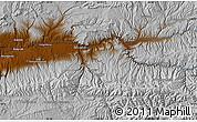 Physical Map of Chaghcharān