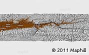 Physical Panoramic Map of Dahan-e Jar-e Jawak
