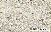 """Shaded Relief Map of the area around 34°28'56""""N,66°22'30""""E"""