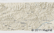 Shaded Relief 3D Map of Anakas