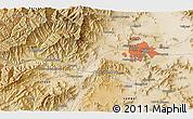 Satellite 3D Map of Kabul