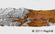 "Physical Panoramic Map of the area around 34° 28' 56"" N, 68° 55' 30"" E"