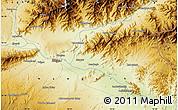 Physical Map of `Alīkheyl